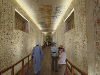 Inside a tomb-Valley of the Kings